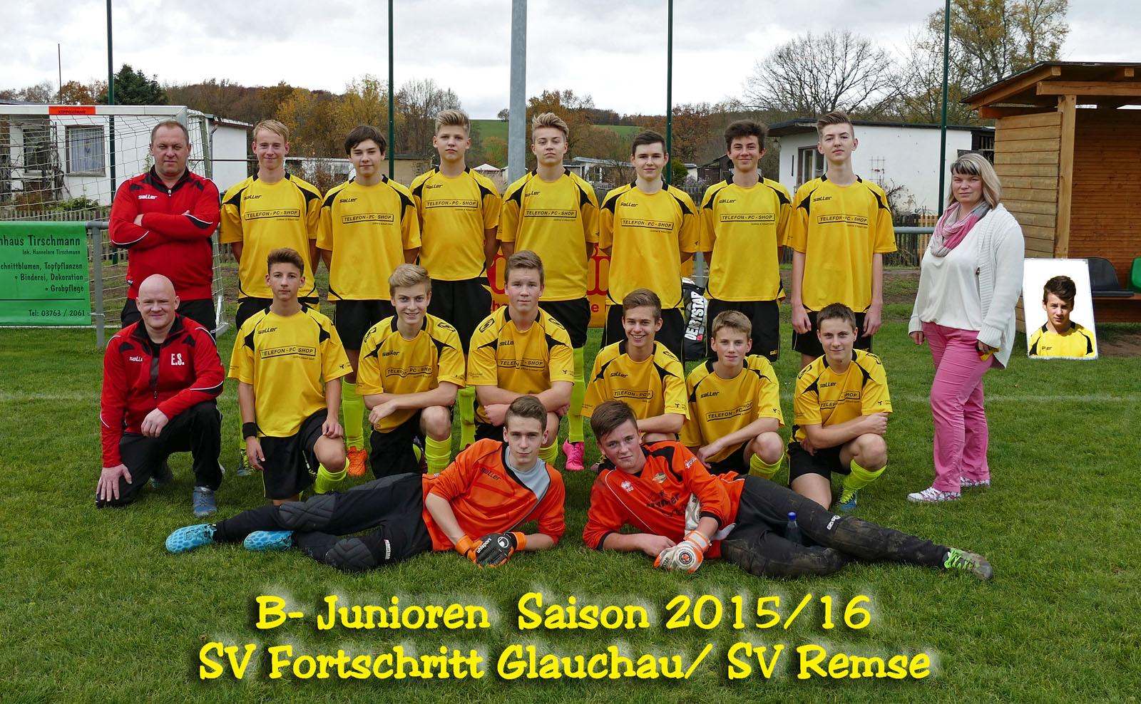 B- Junioren 2015/16