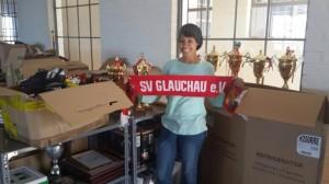 Freude über die Spenden von Fortschritt Glauchau