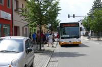 Abfahrt in Glauchau