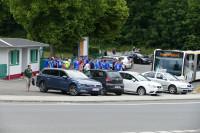 Ankunft in Werdau
