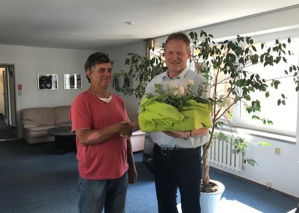 Sven- Uwe Schwager 50 Jahre im Verein