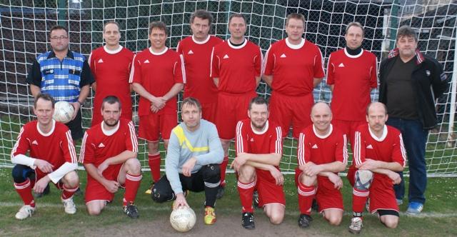 Team der Alten Herren des SV Fortschritt Glauchau Saison 2014