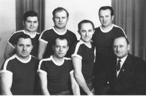 Kegelteam von 1971